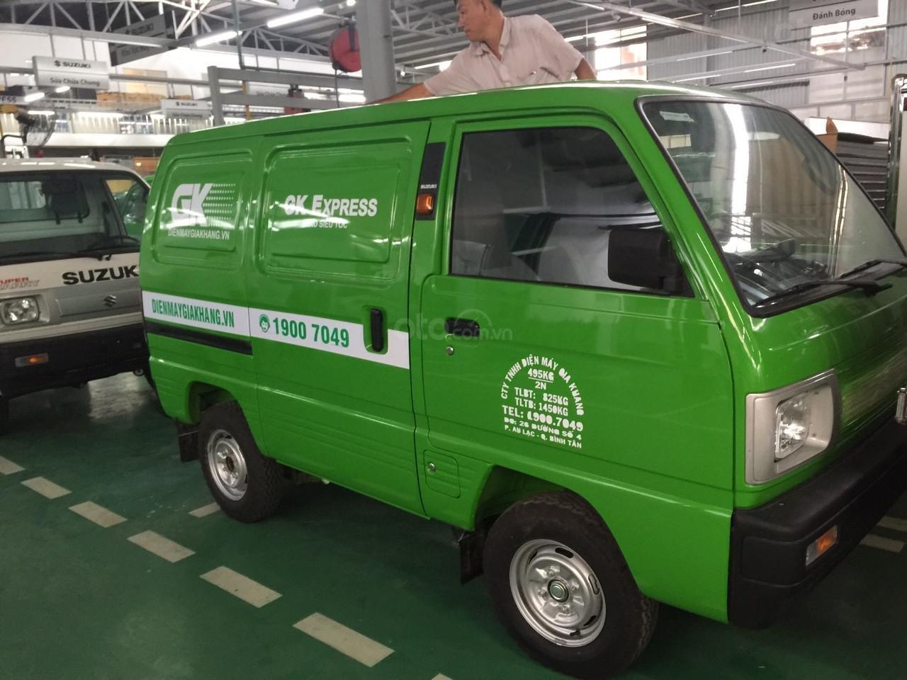 Xe tải Suzuki Van chạy giờ cấm 24/7, đủ màu, giao ngay giá cực sốc, hỗ trợ Bank, lãi suất tốt (1)