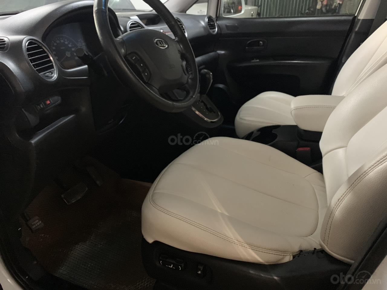 Bán xe Kia Carens 2.0AT năm 2011, màu trắng (7)