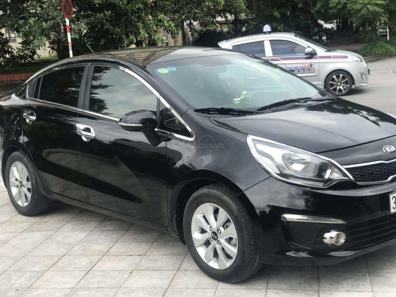 Xe Kia Rio đăng ký 2016, màu đen nhập khẩu giá tốt 469 triệu đồng (2)