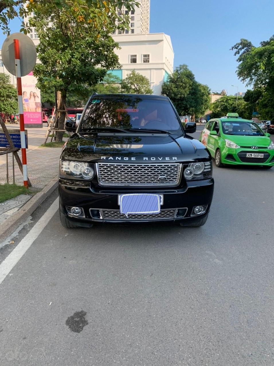 Bán LandRover Range Rover Autobiography 5.0 sản xuất năm 2012, màu đen, nhập khẩu nguyên chiếc (11)