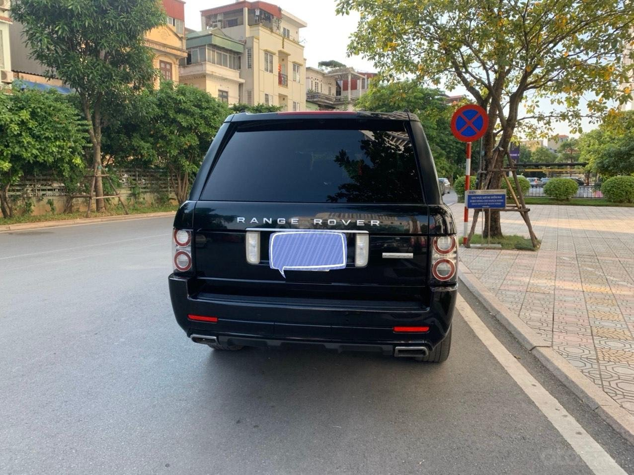 Bán LandRover Range Rover Autobiography 5.0 sản xuất năm 2012, màu đen, nhập khẩu nguyên chiếc (12)