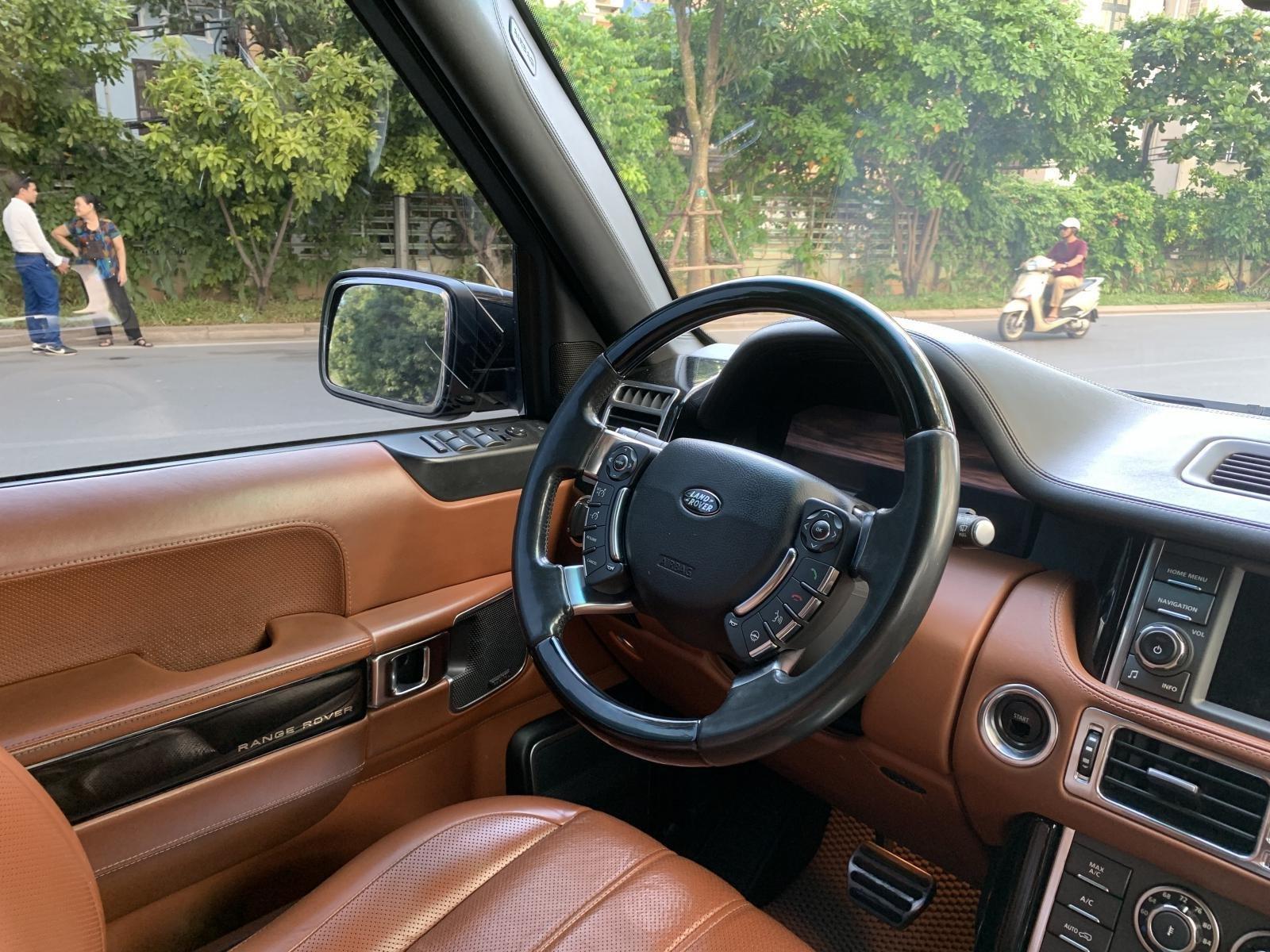 Bán LandRover Range Rover Autobiography 5.0 sản xuất năm 2012, màu đen, nhập khẩu nguyên chiếc (3)