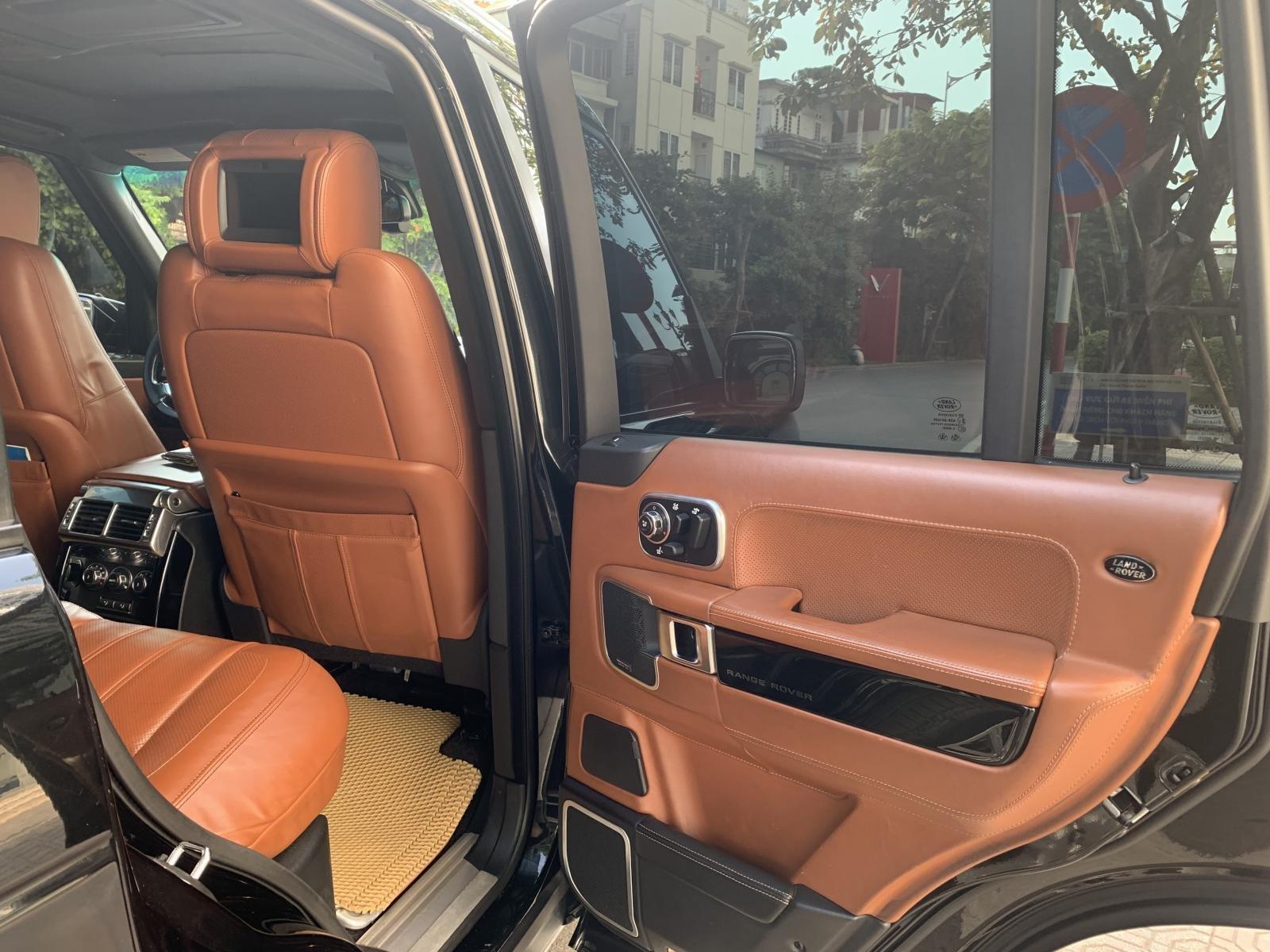 Bán LandRover Range Rover Autobiography 5.0 sản xuất năm 2012, màu đen, nhập khẩu nguyên chiếc (4)