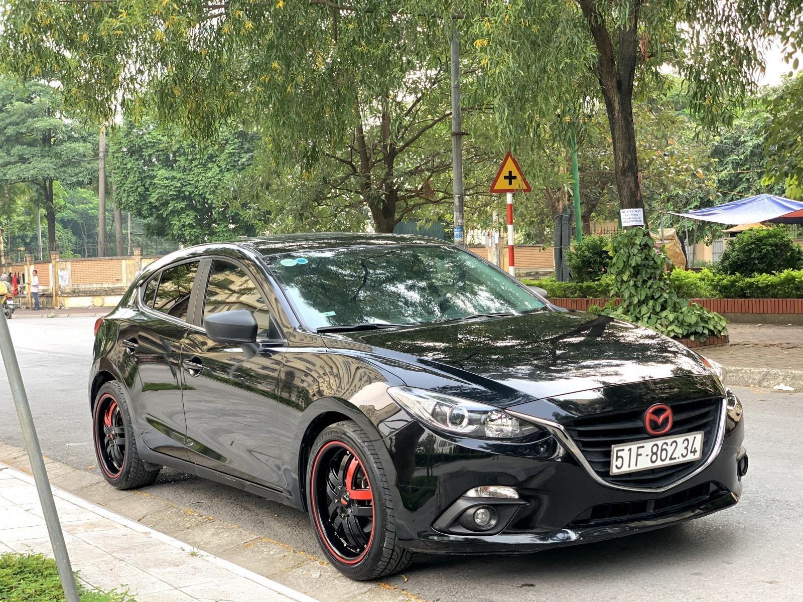 Bán Mazda 3 2015 HB SX 2015 màu đen (4)