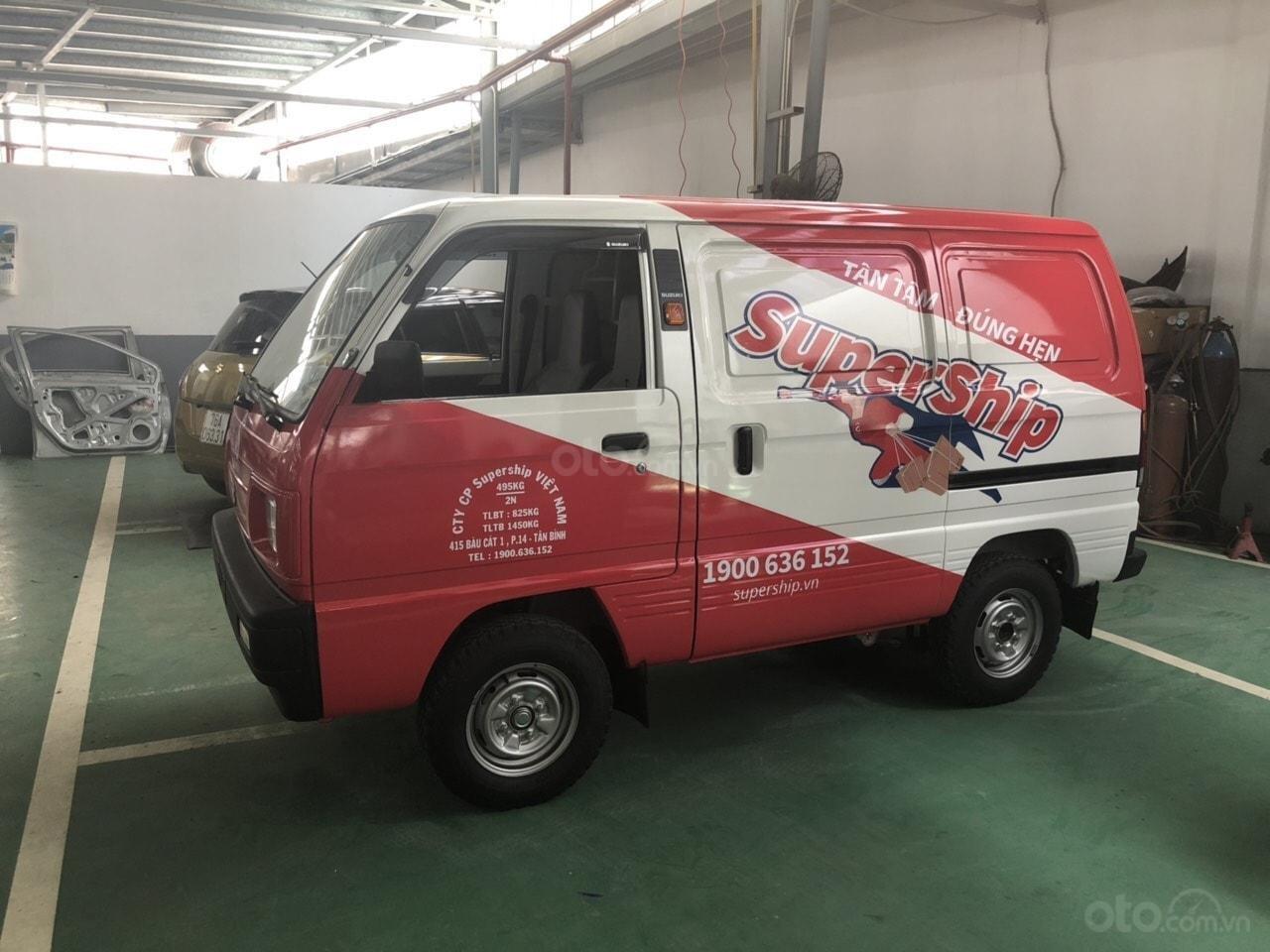 Xe tải van Suzuki chạy giờ cấm, đủ màu giao ngay, giá hot (1)
