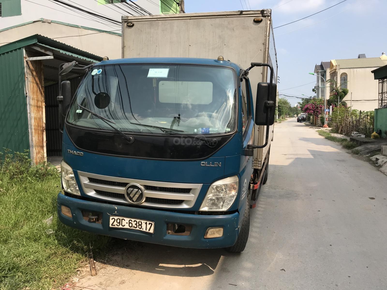 Bán xe tải Ollin 700C thùng kín đã qua sử dụng, thùng 5,77m, tải 7 tấn (3)