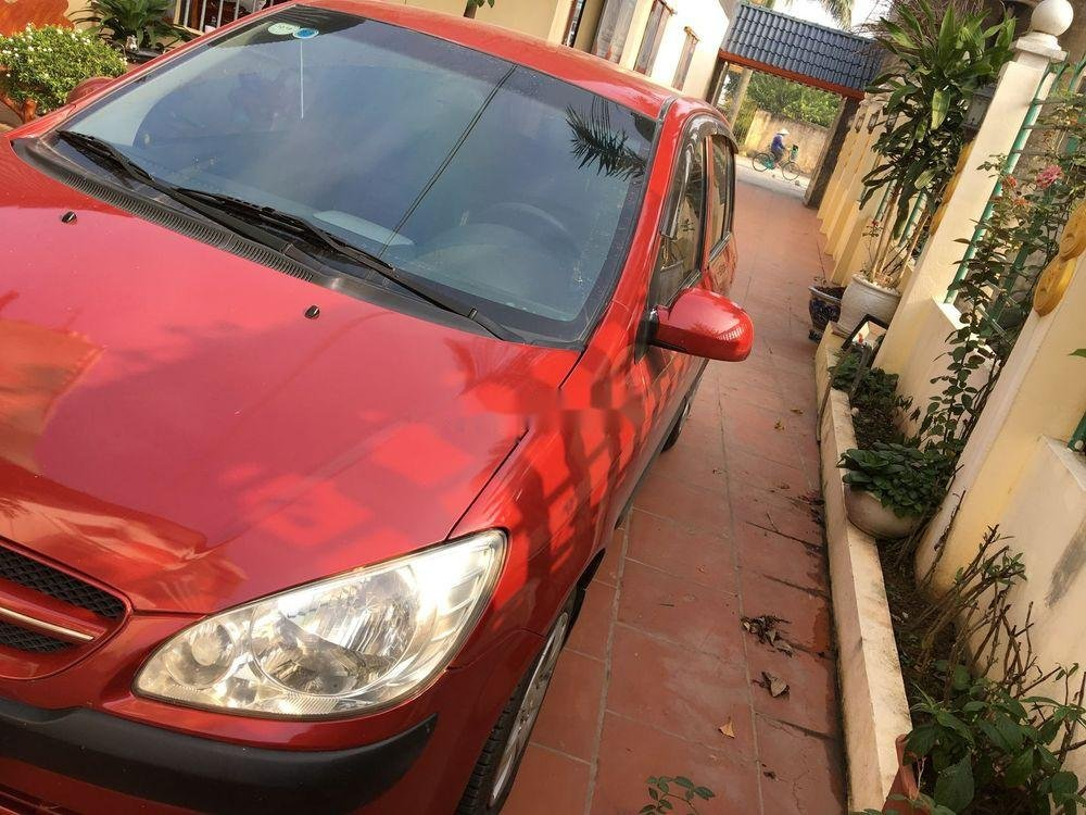 Cần bán lại xe Hyundai Click AT năm sản xuất 2007, màu đỏ, nhập khẩu nguyên chiếc   (2)