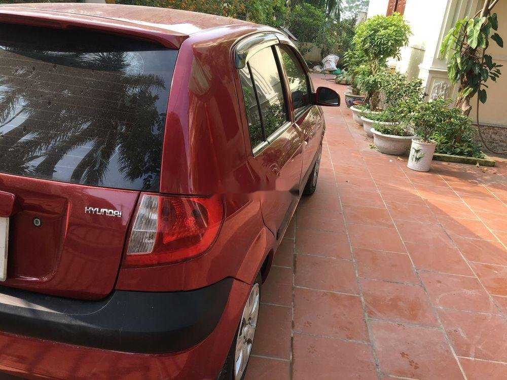 Cần bán lại xe Hyundai Click AT năm sản xuất 2007, màu đỏ, nhập khẩu nguyên chiếc   (3)