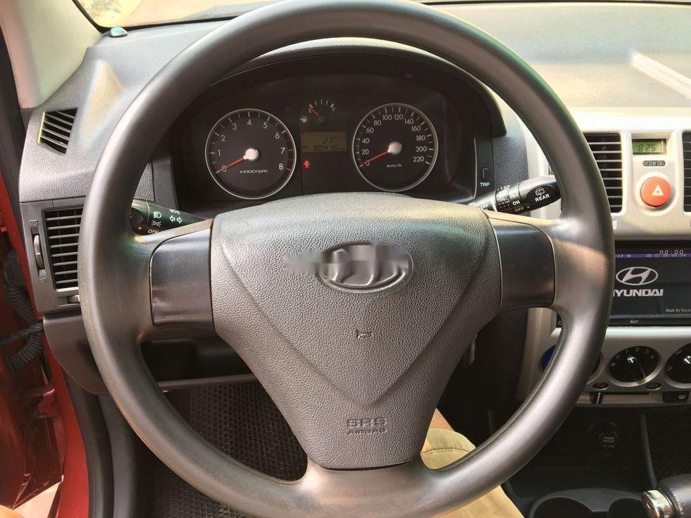 Cần bán lại xe Hyundai Click AT năm sản xuất 2007, màu đỏ, nhập khẩu nguyên chiếc   (5)