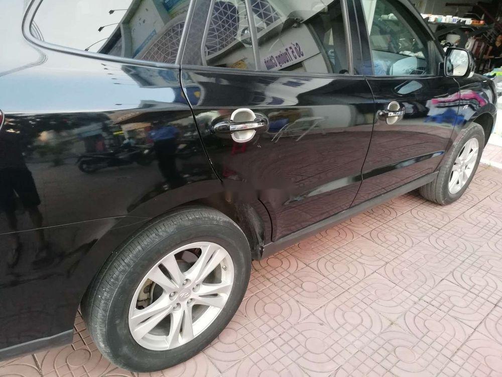 Bán Hyundai Santa Fe đời 2009, màu đen, nhập khẩu nguyên chiếc chính chủ giá cạnh tranh (3)