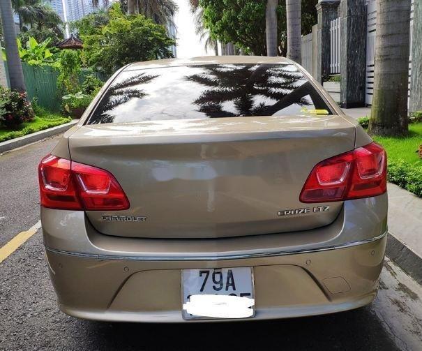 Bán ô tô Chevrolet Cruze  1.8 LTZ  2016, màu vàng (6)