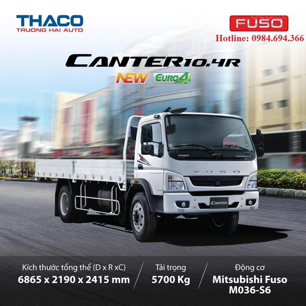 Bán xe tải nhập khẩu Mitsubishi Fuso FA Nhật Bản tải 5.5 tấn, thùng dài 5.28m, đủ các loại thùng (12)