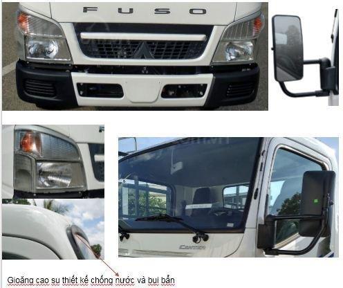Bán xe tải nhập khẩu Mitsubishi Canter 6.5 tải 3.4 tấn, thùng dài 4.3m, hỗ trợ trả góp 80% (9)