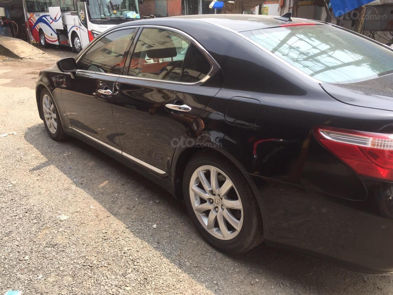 Bán ô tô Lexus LS460 đời 2010, màu đen, nhập khẩu nguyên chiếc, giá chỉ 400 triệu (1)