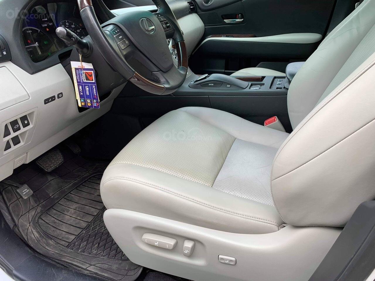 Bán Lexus RX 450h năm 2013, màu trắng, xe nhập, giá 500tr (7)