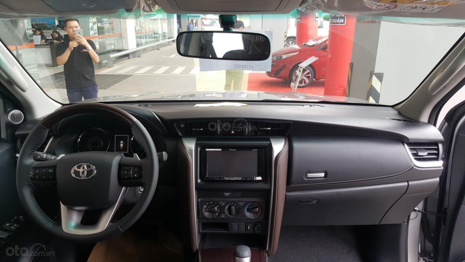 Sở hữu Toyota Fortuner 2.4G, máy dầu, số tự động, 1 cầu chỉ với 350tr (5)