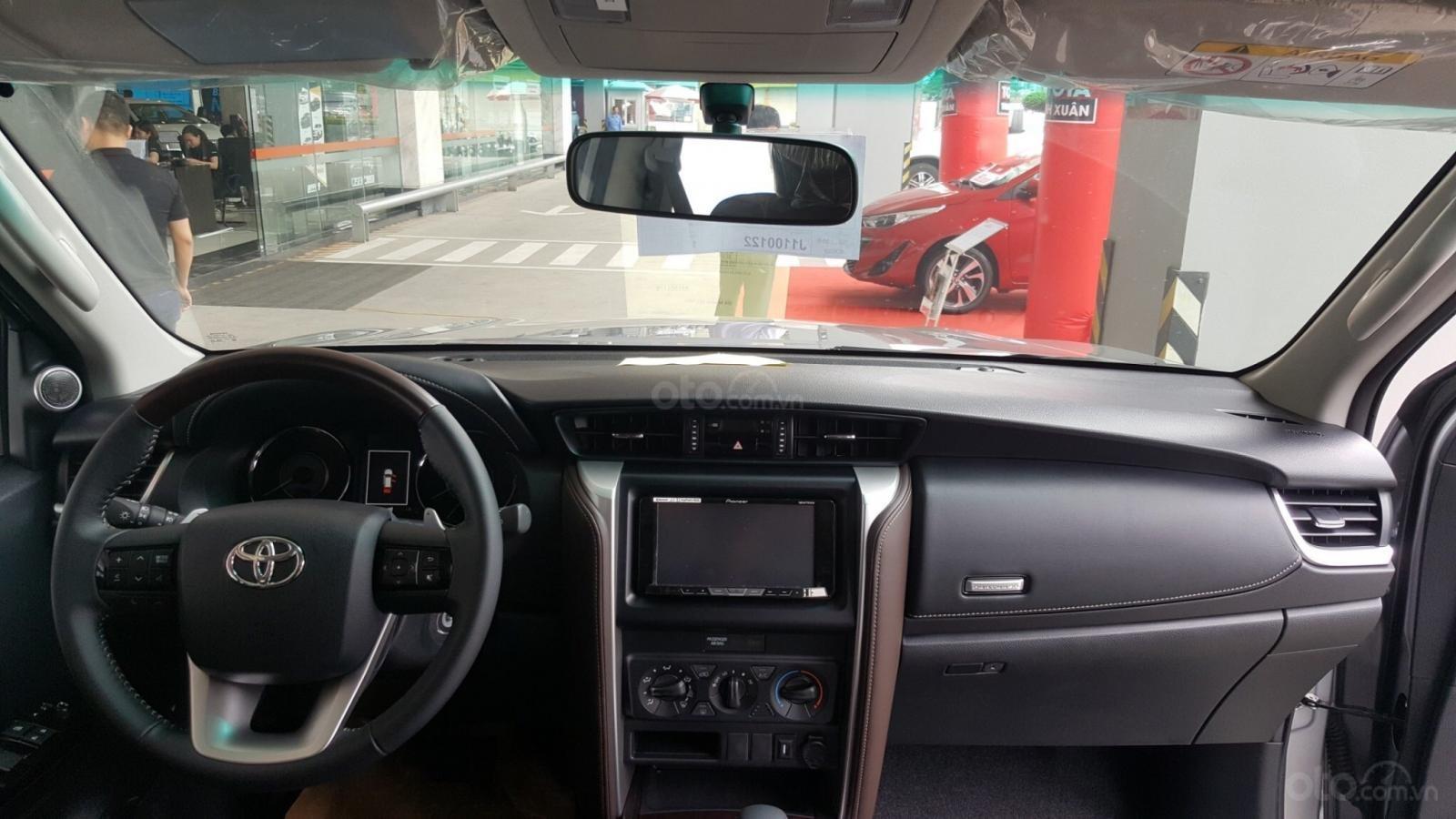 Sở hữu Toyota Fortuner 2.4G, máy dầu, số tự động, 1 cầu chỉ với 350tr (6)