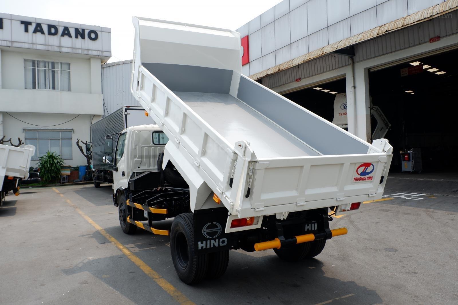 Xe Ben Hino 3 tấn 5, vay 80% LS thấp, thùng 2 khối 8, ben nâng Shinmaywa, tải hàng 3.490Kg kèm nhiều ưu đãi (2)