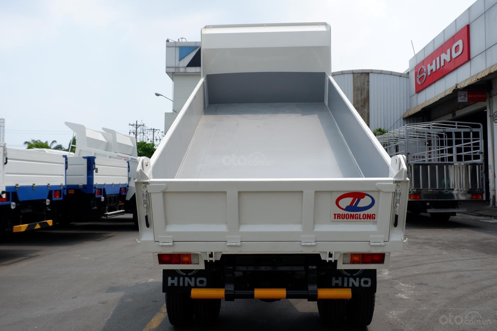 Xe Ben Hino 3 tấn 5, vay 80% LS thấp, thùng 2 khối 8, ben nâng Shinmaywa, tải hàng 3.490Kg kèm nhiều ưu đãi (3)