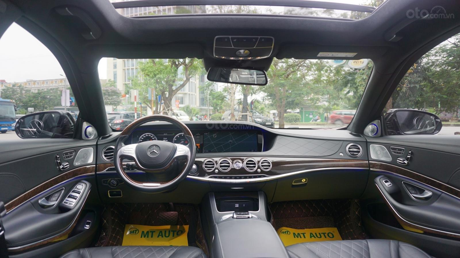 Bán xe Mercedes S500 L đời 2017, màu đen, xe siêu siêu lướt cực đẹp. LH: 0982.84.2838 (5)