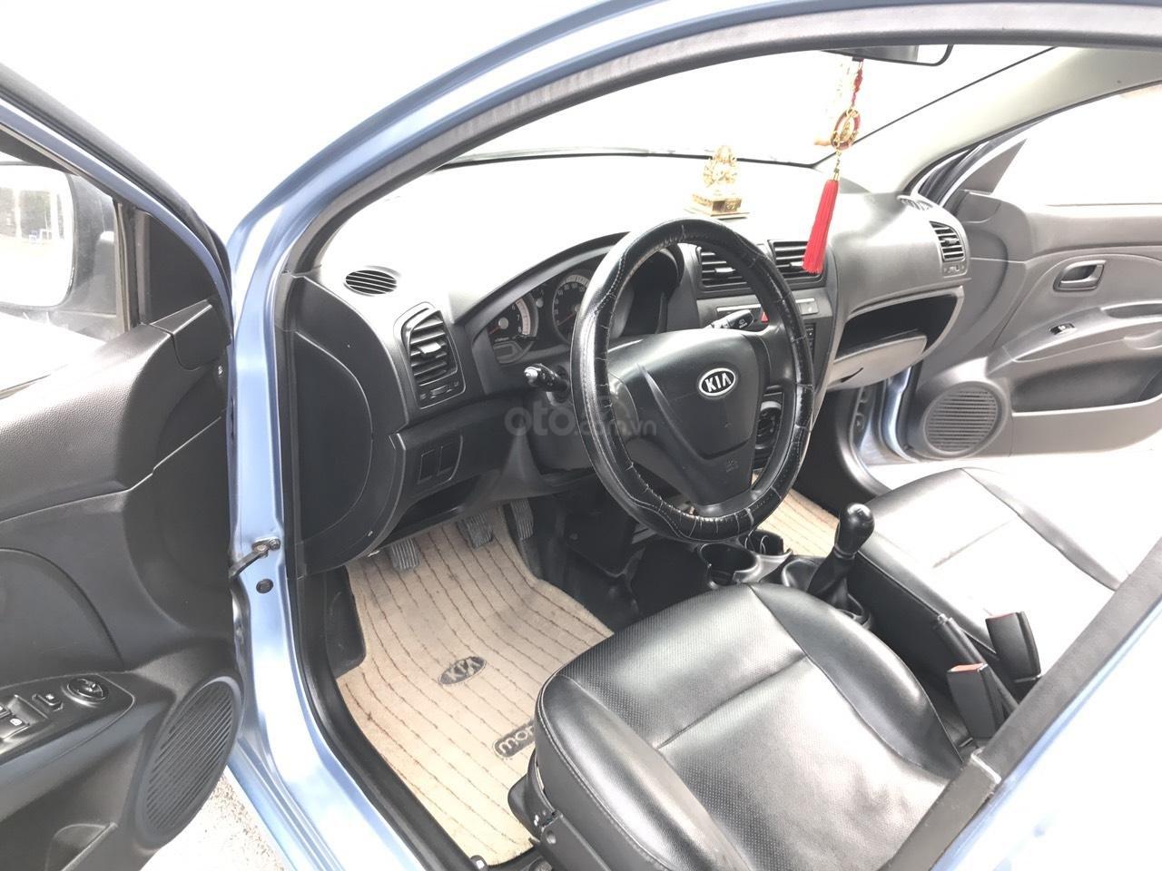 Bán xe Kia Morning SLX năm 2008, màu xanh lam, xe nhập (4)