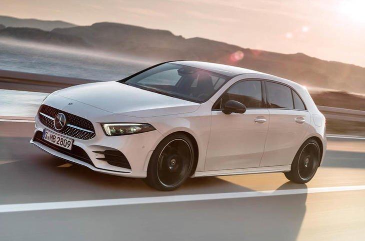 10 xe hatchback tốt nhất 2019 - Mercedes-Benz A-Class.
