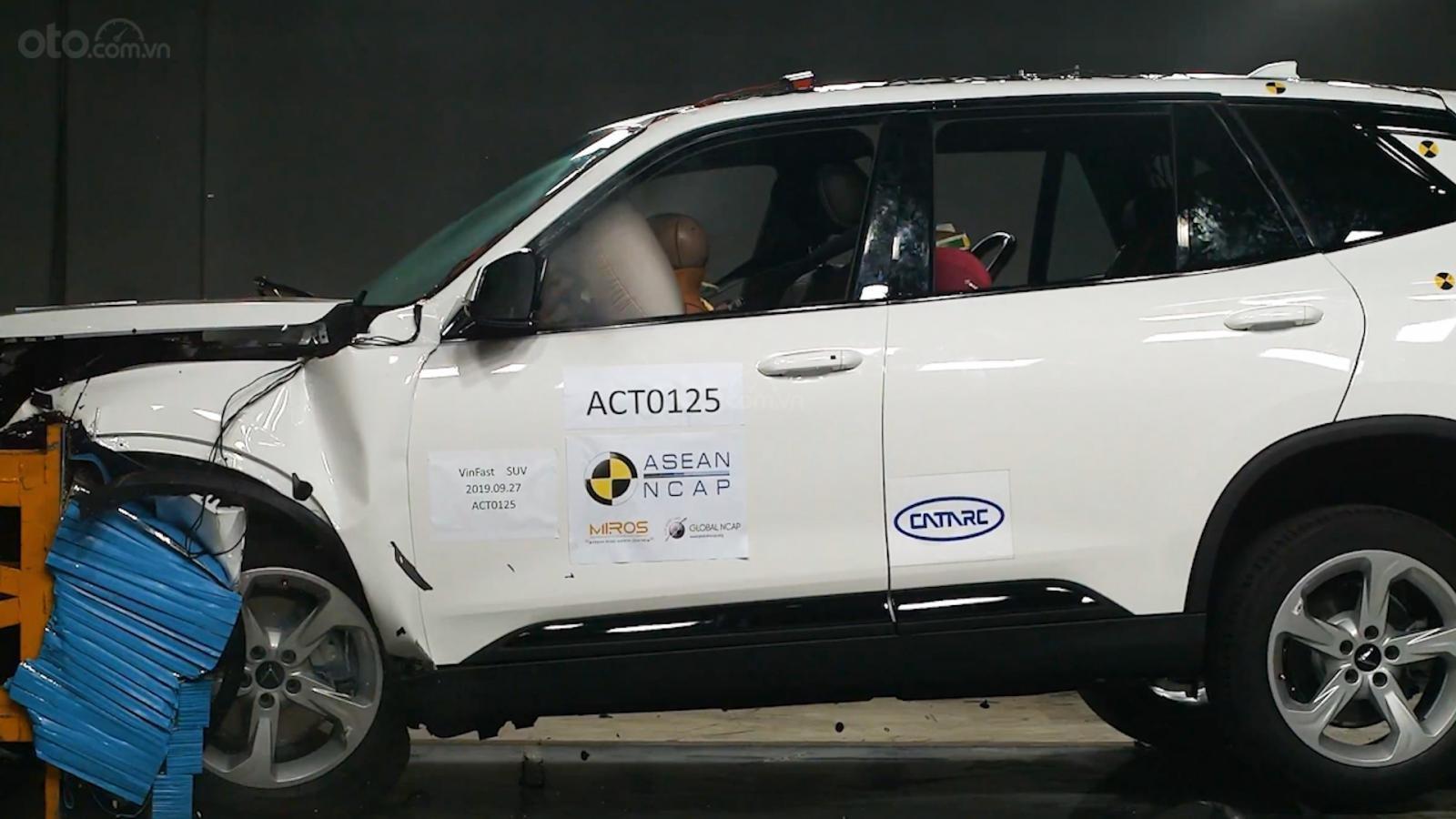 3 mẫu xe của VinFast được thử nghiệm tại trung tâm ASEAN NCAP.