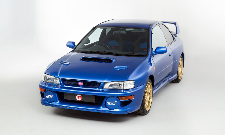 Subaru Impreza 22B STi phiên bản giới hạn đang được rao bán tại Anh.