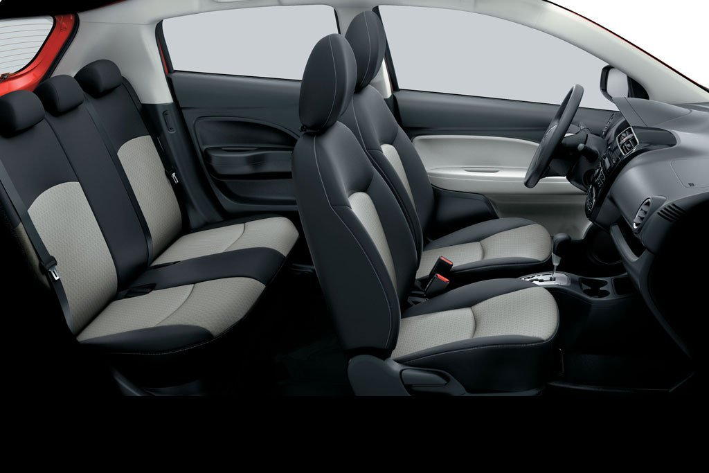 Thiết kế ghế ngồi của xe Mitsubishi Mirage 2019 1