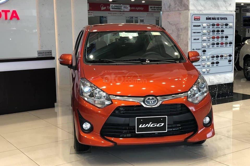 Toyota Wigo 2019 1.2 AT sử dụng động cơ xăng 3NR-VE 1.2L, 4 xi lanh thẳng hàng, kết hợp hộp số tự động 4 cấp a1
