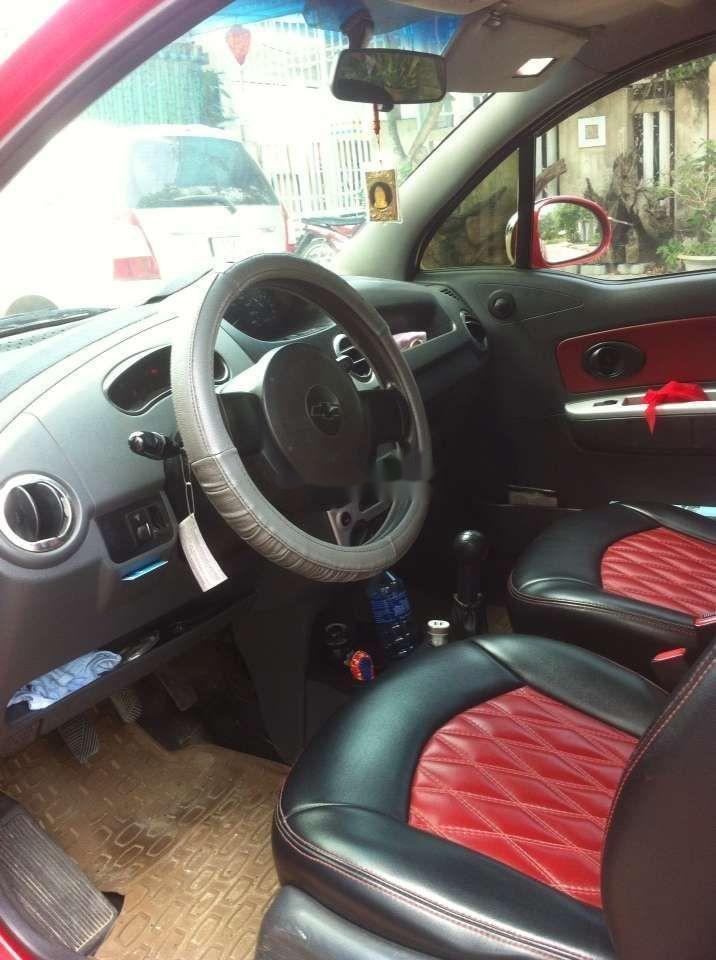 Bán xe Chevrolet Spark đời 2009, màu đỏ như mới, giá tốt (5)