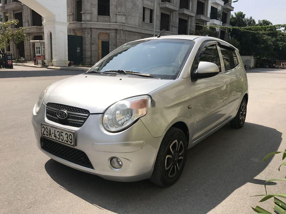 Bán Kia Morning đời 2009, màu bạc, nhập khẩu xe gia đình (1)