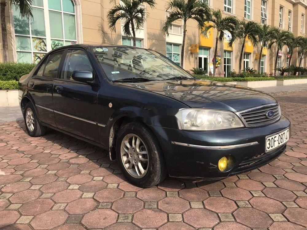 Bán Ford Laser năm 2004, màu đen chính chủ, 148tr (7)