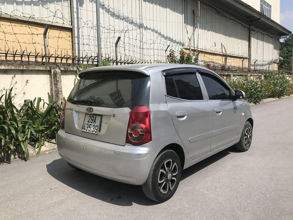 Bán Kia Morning đời 2009, màu bạc, nhập khẩu xe gia đình (4)