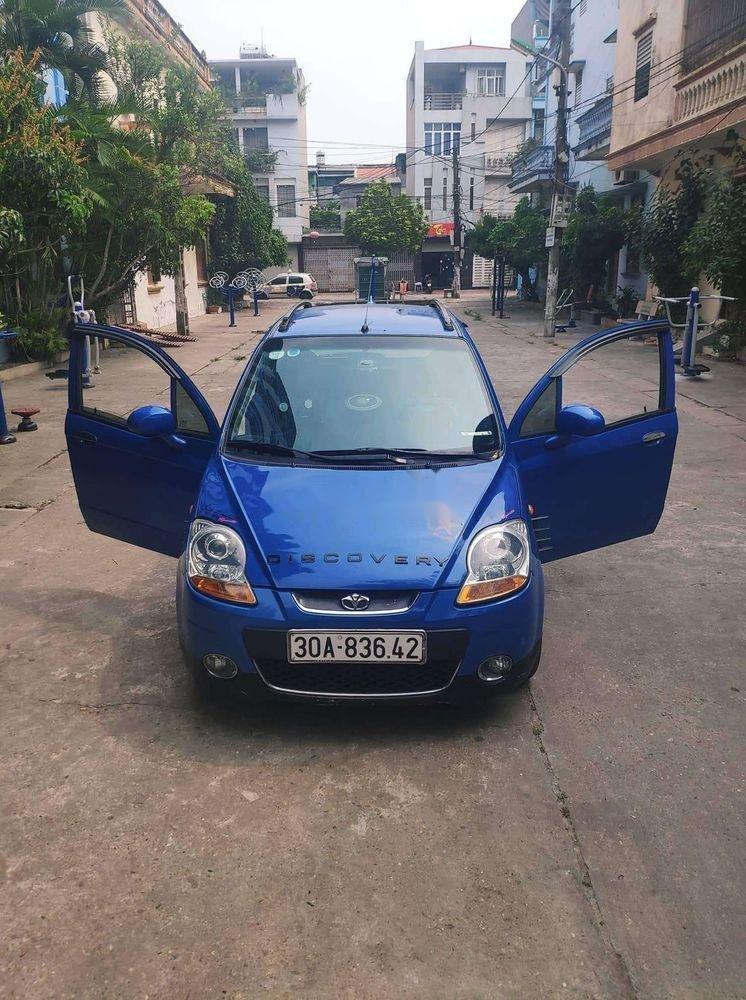 Bán xe Daewoo Matiz 2008, màu xanh lam, nhập khẩu số tự động (3)