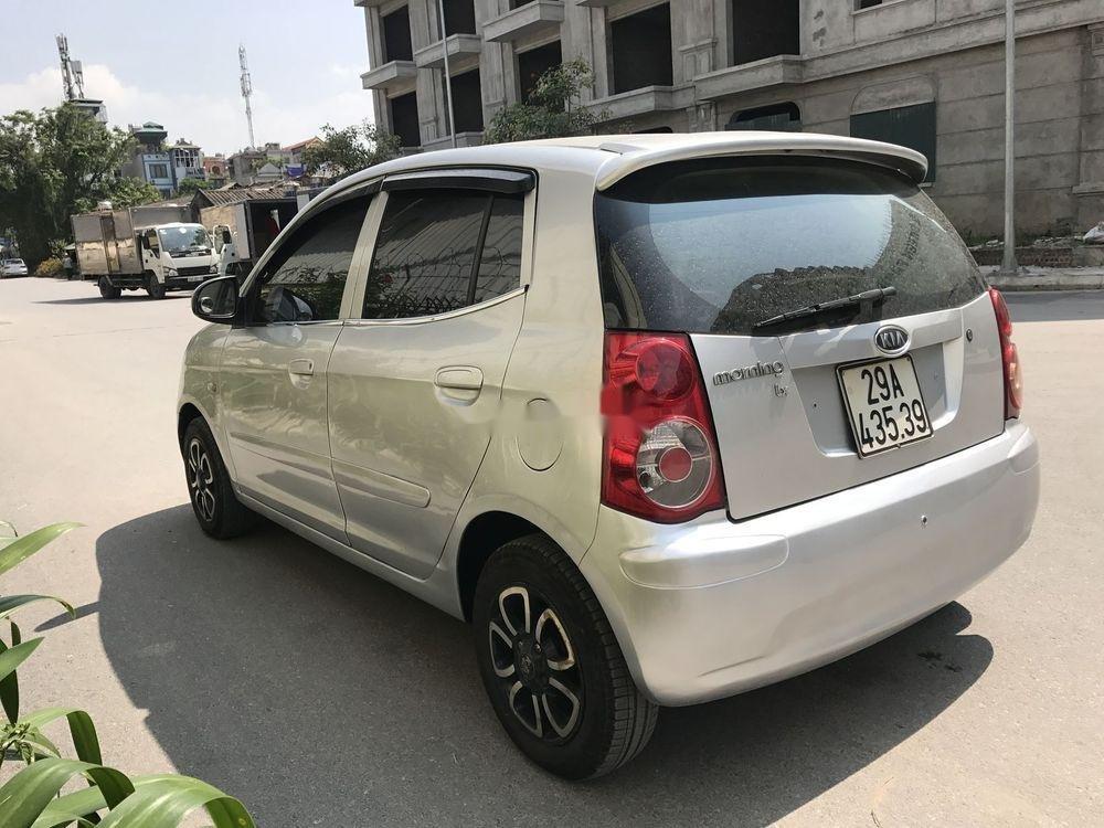 Bán Kia Morning đời 2009, màu bạc, nhập khẩu xe gia đình (5)