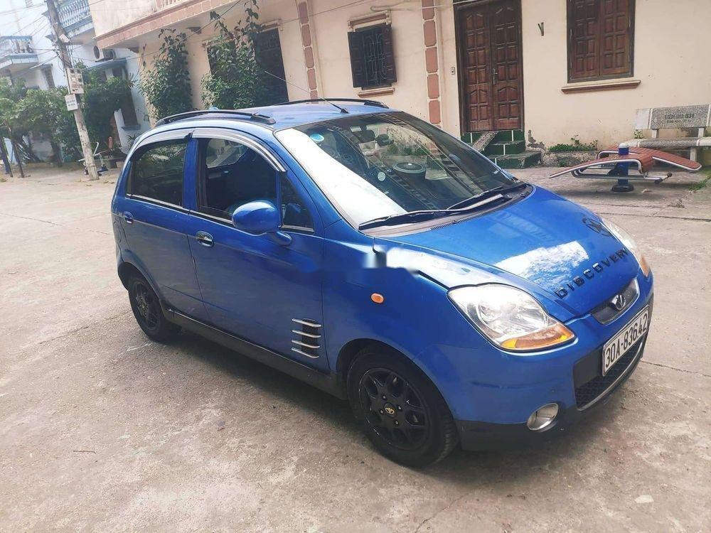 Bán xe Daewoo Matiz 2008, màu xanh lam, nhập khẩu số tự động (4)