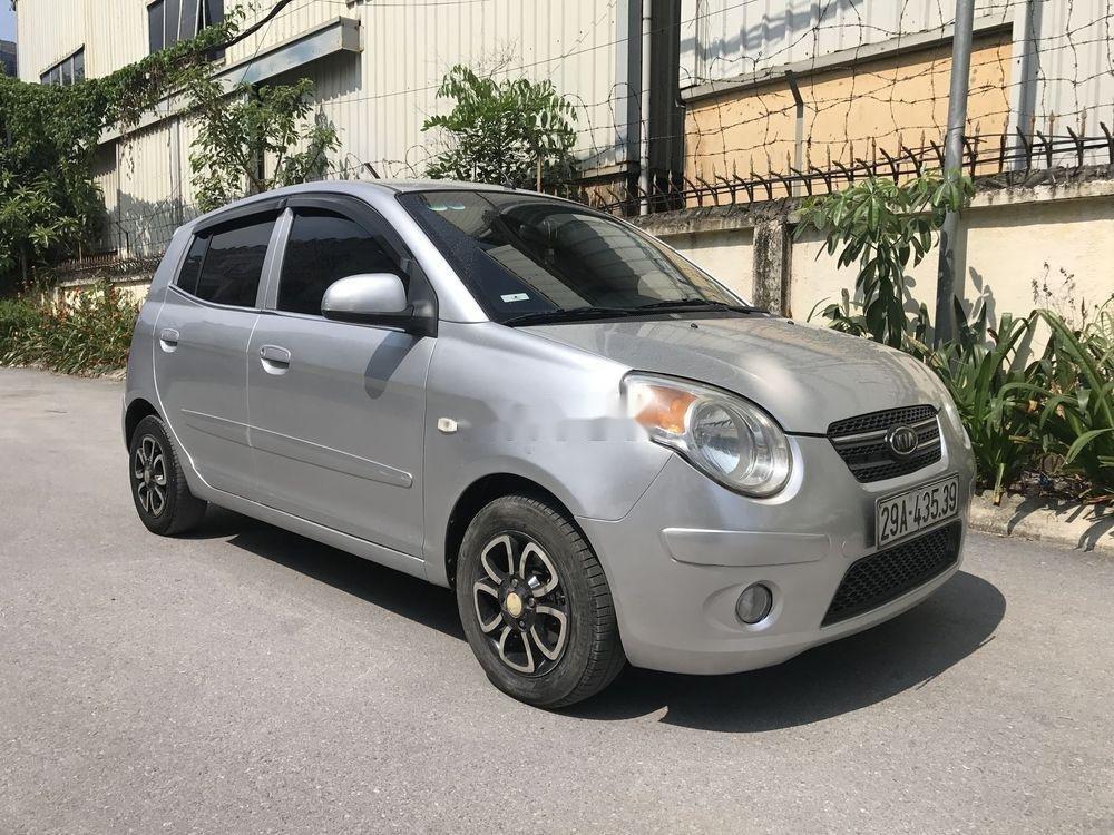 Bán Kia Morning đời 2009, màu bạc, nhập khẩu xe gia đình (2)