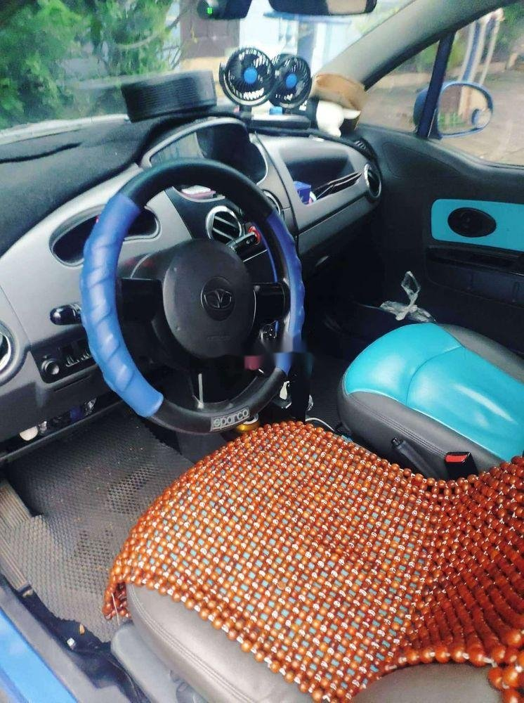 Bán xe Daewoo Matiz 2008, màu xanh lam, nhập khẩu số tự động (7)
