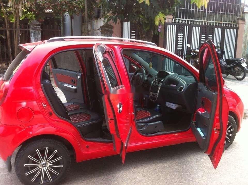 Bán xe Chevrolet Spark đời 2009, màu đỏ như mới, giá tốt (6)