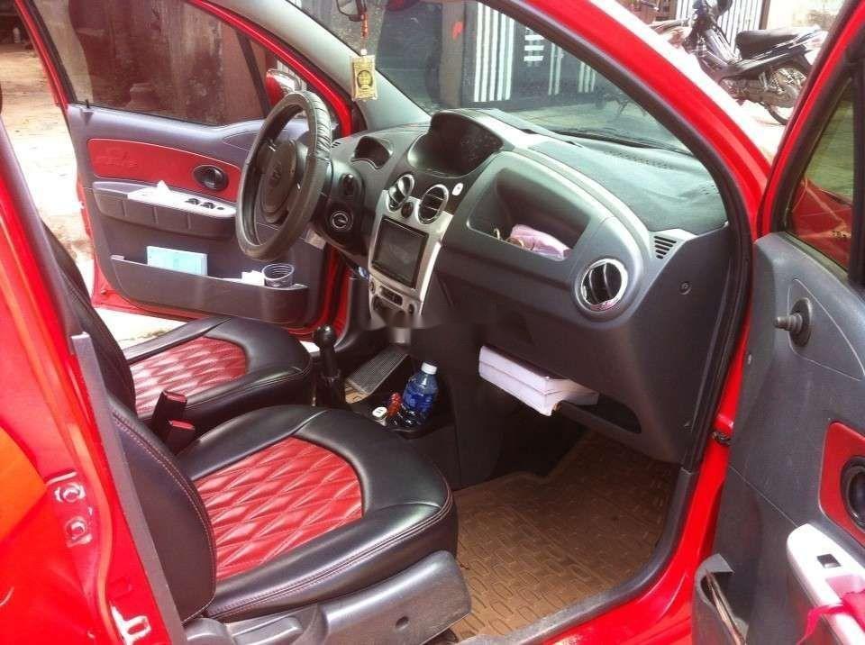 Bán xe Chevrolet Spark đời 2009, màu đỏ như mới, giá tốt (7)