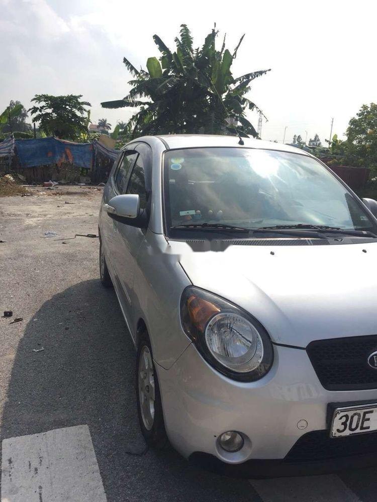 Cần bán Kia Morning sản xuất năm 2009, màu bạc, xe nhập, chính chủ (1)