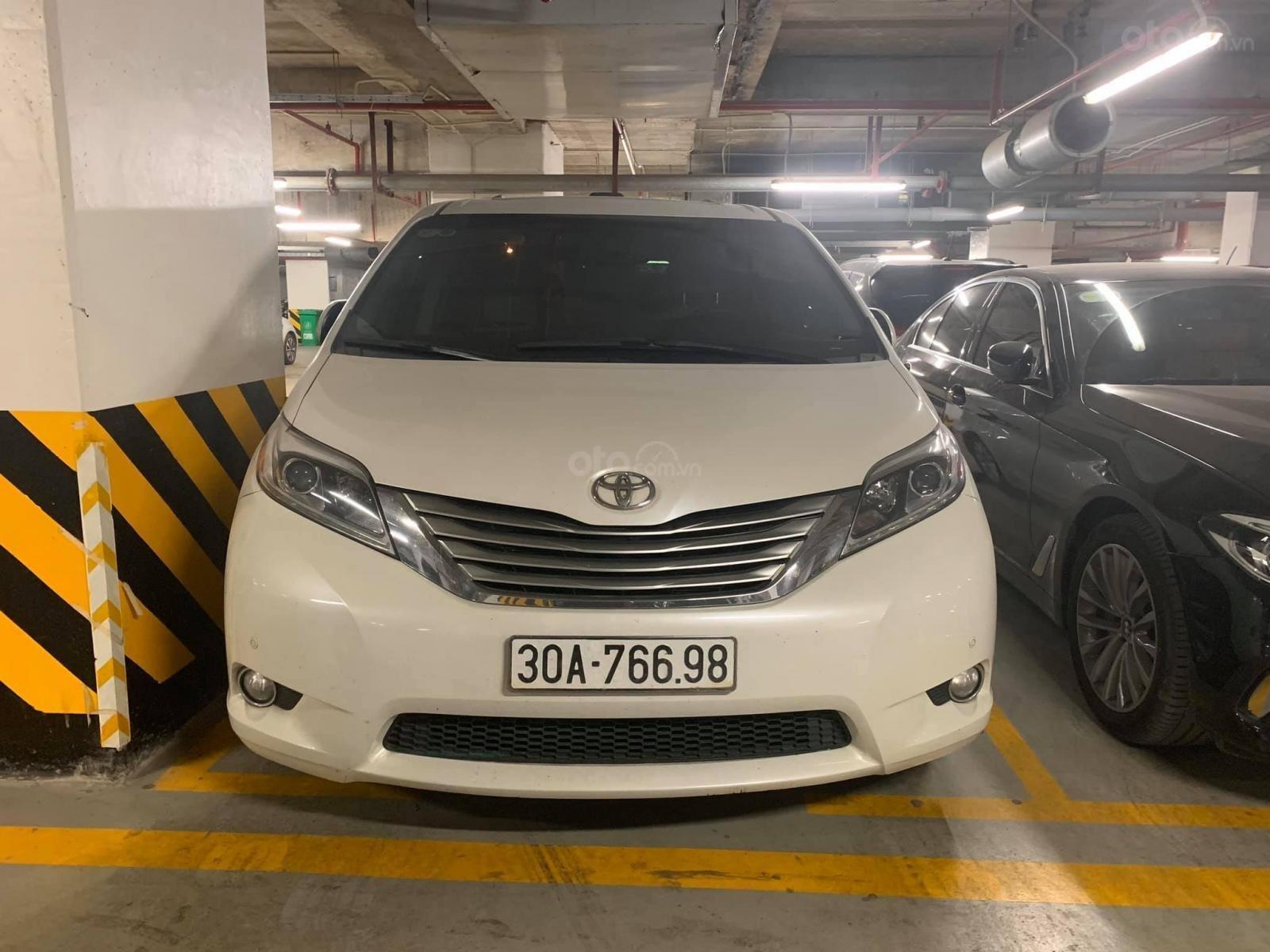 Bán ô tô Toyota Sienna LTD năm 2015, màu trắng, xe nhập (1)