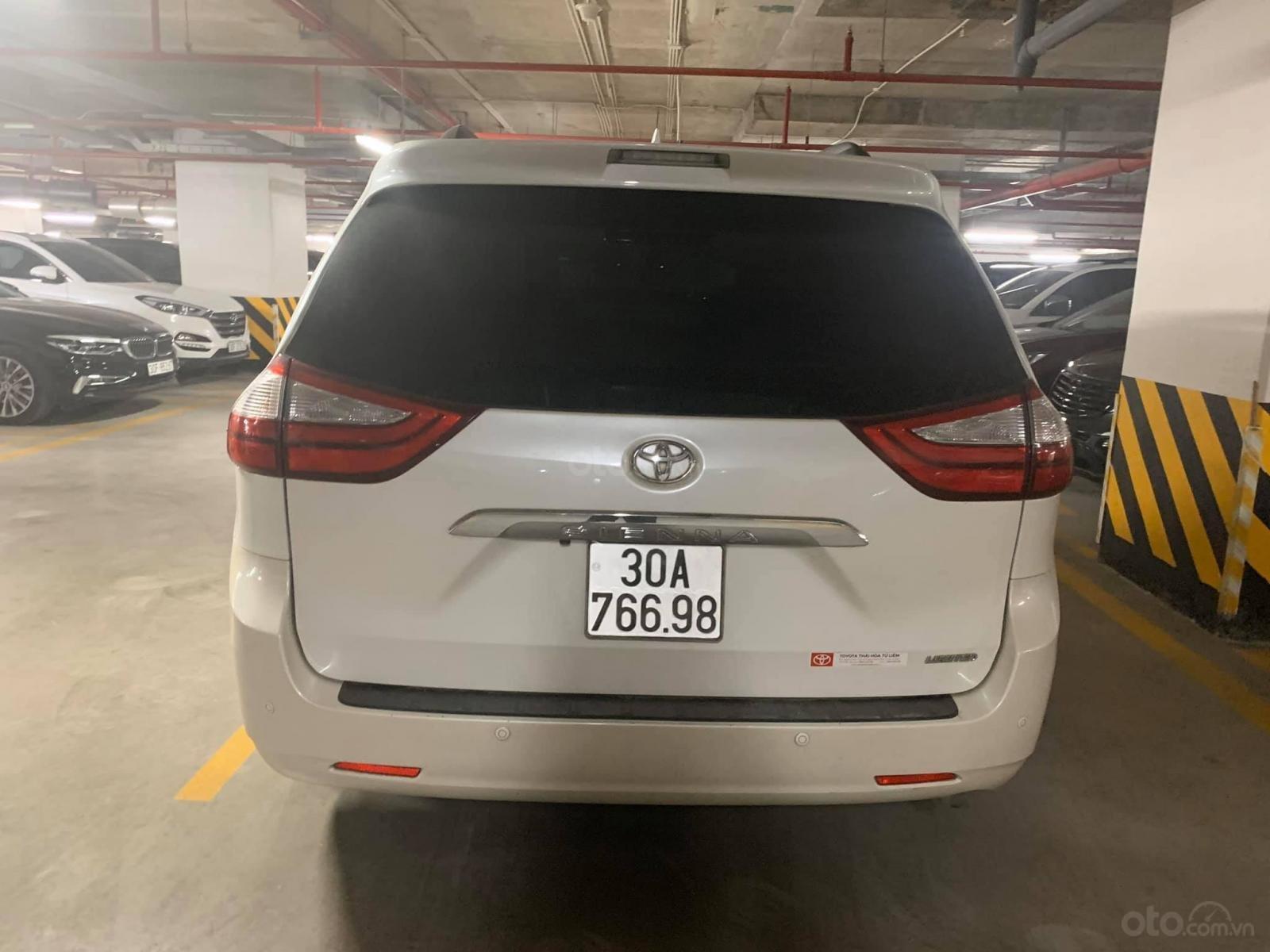 Bán ô tô Toyota Sienna LTD năm 2015, màu trắng, xe nhập (6)