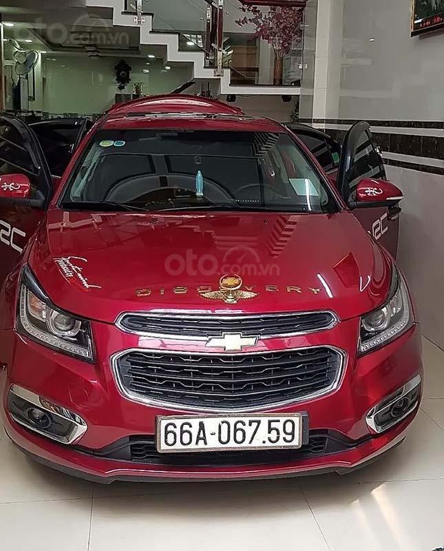 Bán Chevrolet Cruze LTZ sản xuất 2017, màu đỏ, chính chủ  (1)