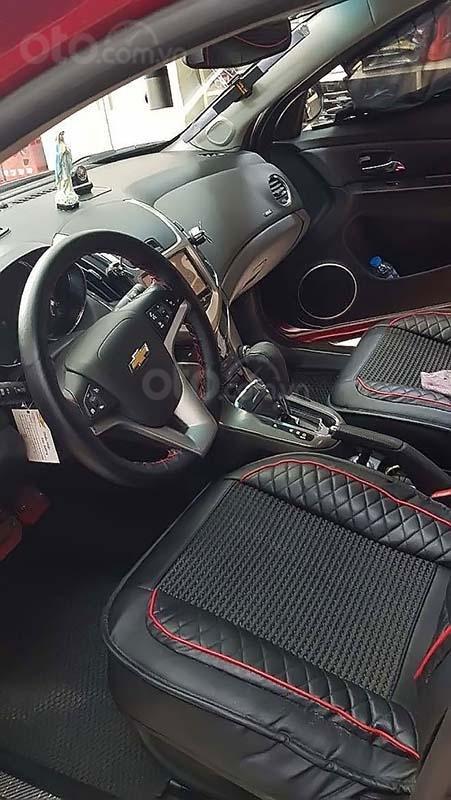 Bán Chevrolet Cruze LTZ sản xuất 2017, màu đỏ, chính chủ  (3)