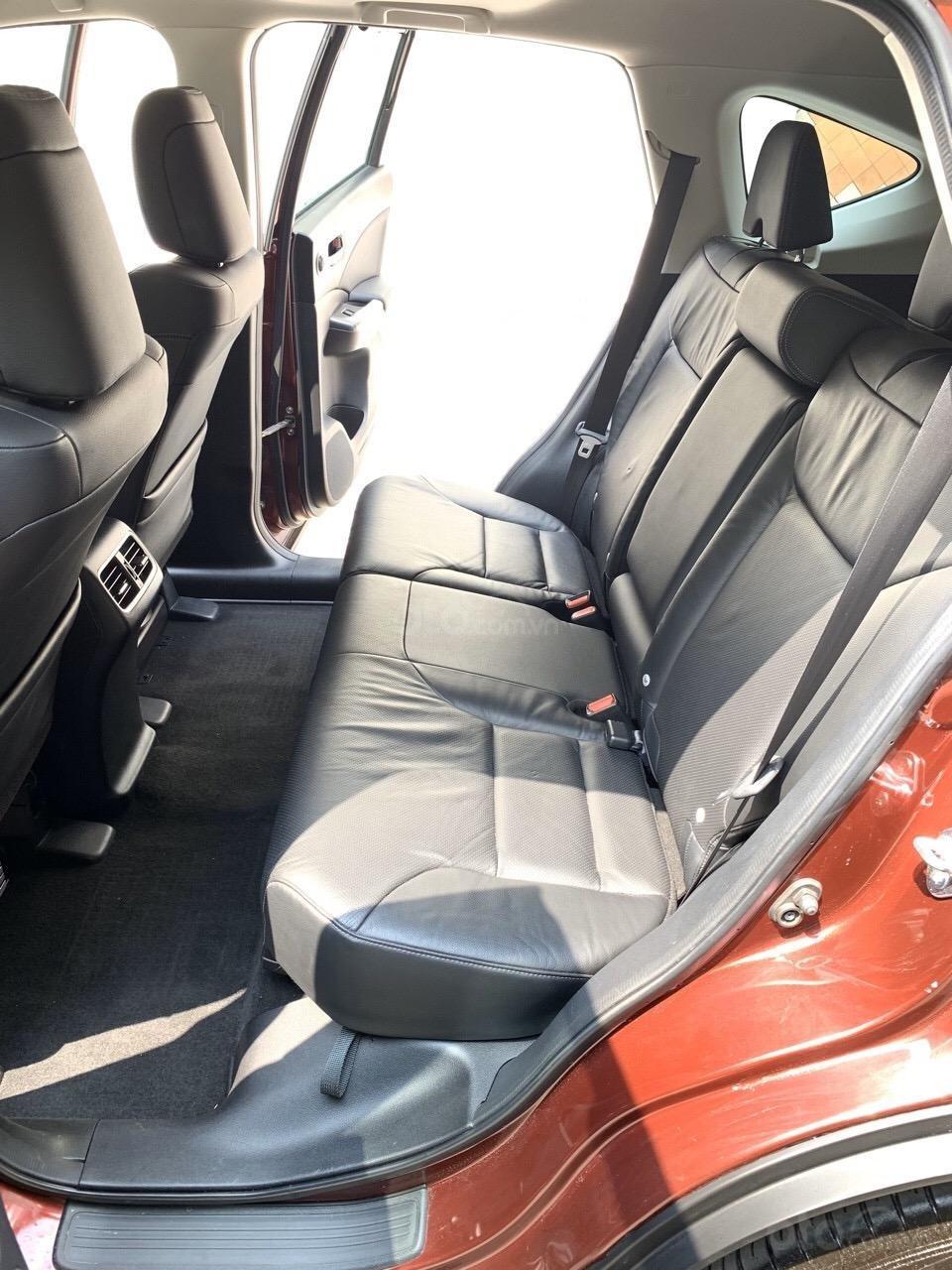 Bán Honda CRV 2.4 bản TG SX 2017 lẫy số vô lăng, xe đen bao check hãng (4)