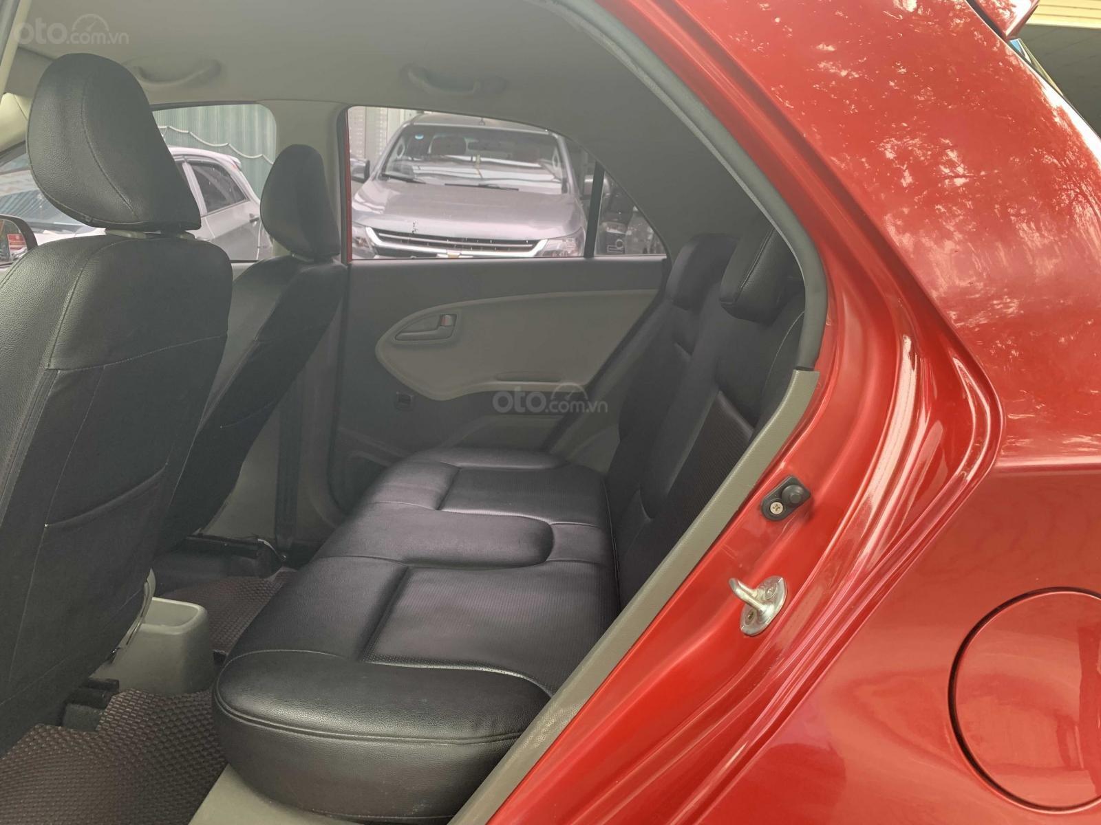 Bán xe Kia Morning đời 2016, màu đỏ  (7)