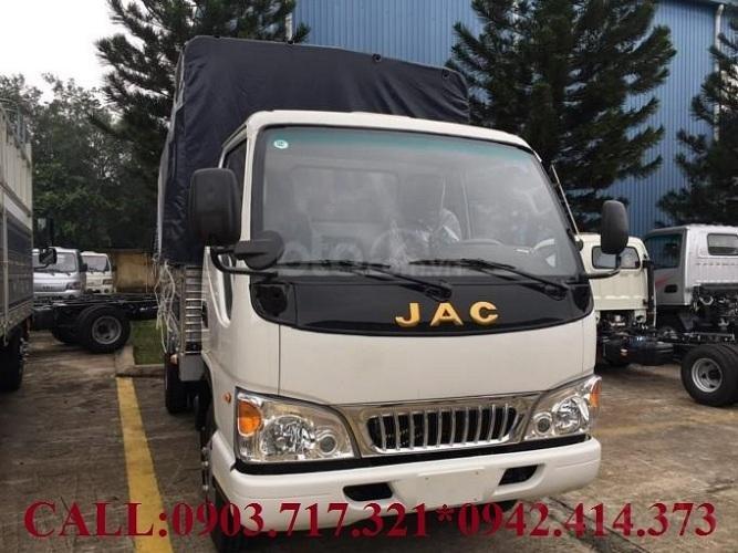 Xe tải Jac 2T4 Euro 2019 máy Isuzu thùng dài 4.4m. Gía xe tải Jac 2T4 (Mã L250) (1)