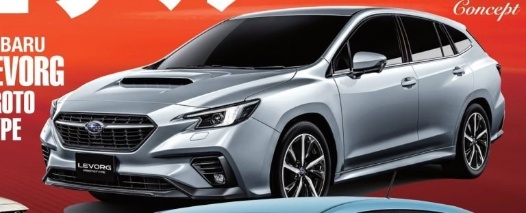 Hình ảnh Subaru Levorg 2020 xuất hiện trên tạp chí Nhật Bản trước thềm ra mắt.